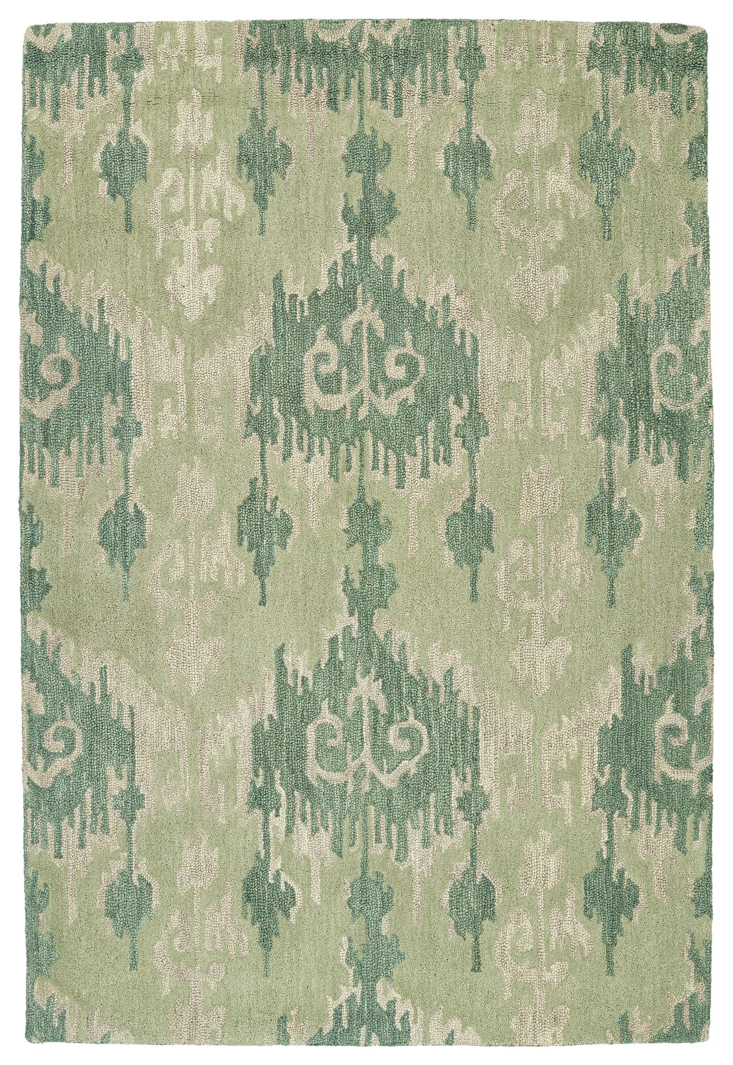 Dodge Green Area Rug Rug Size: Rectangle 8' x 11'