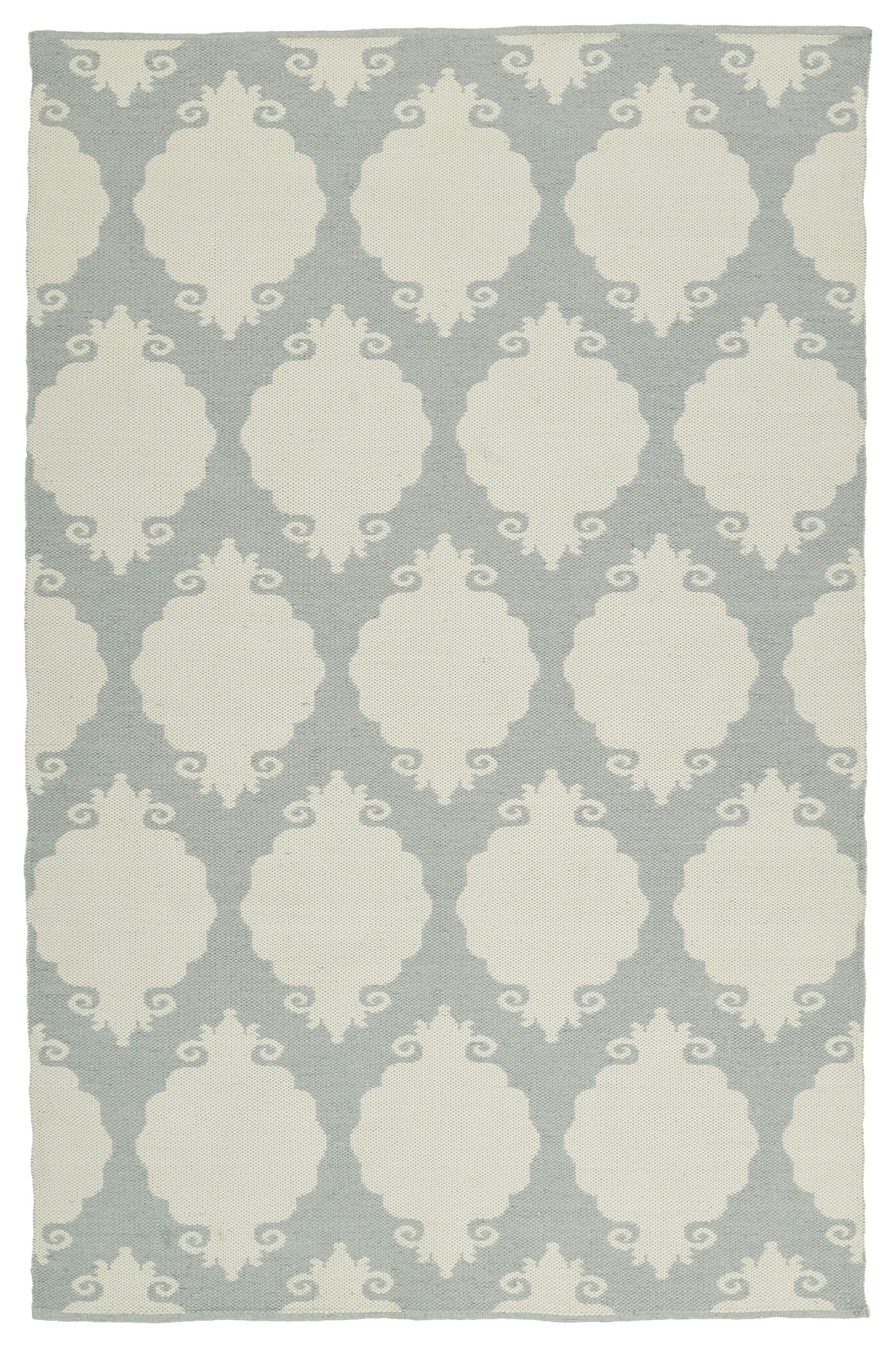Dominic Tufted Gray/Cream Indoor/Outdoor Area Rug Rug Size: Rectangle 3' x 5'