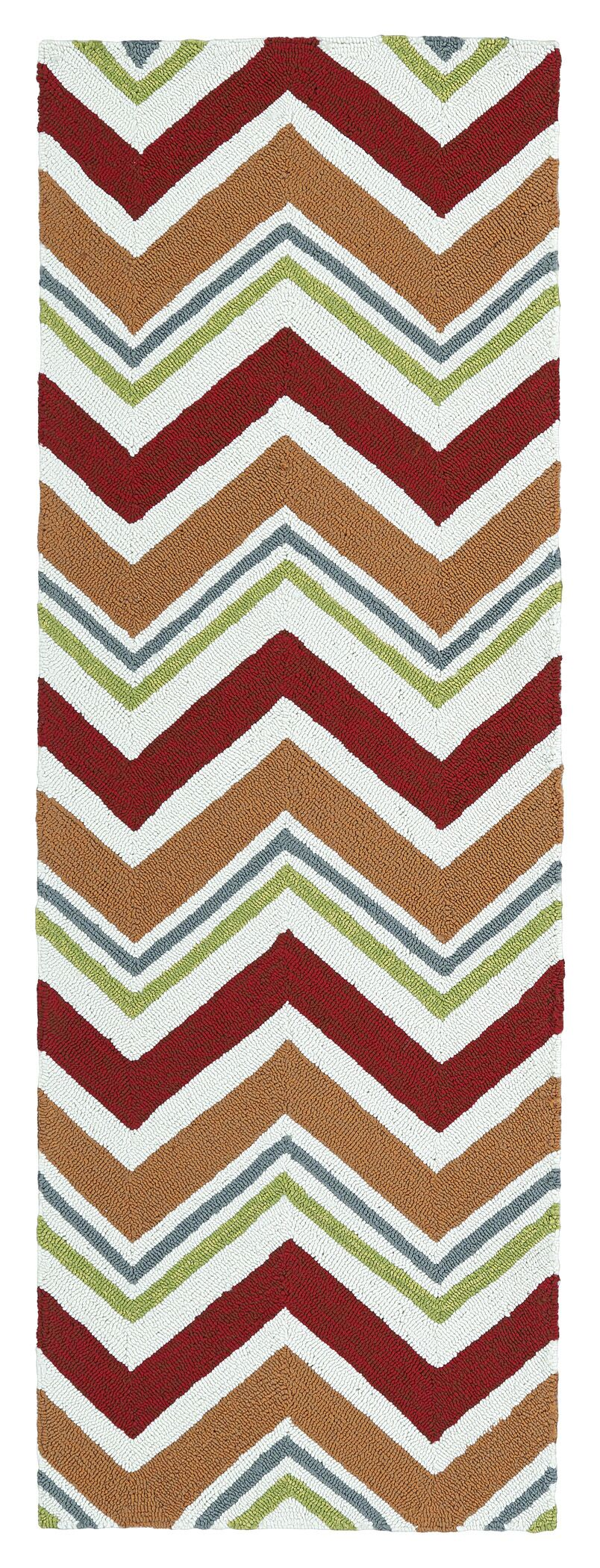 Gagner Red Indoor/Outdoor Area Rug Rug Size: Rectangle 4' x 6'