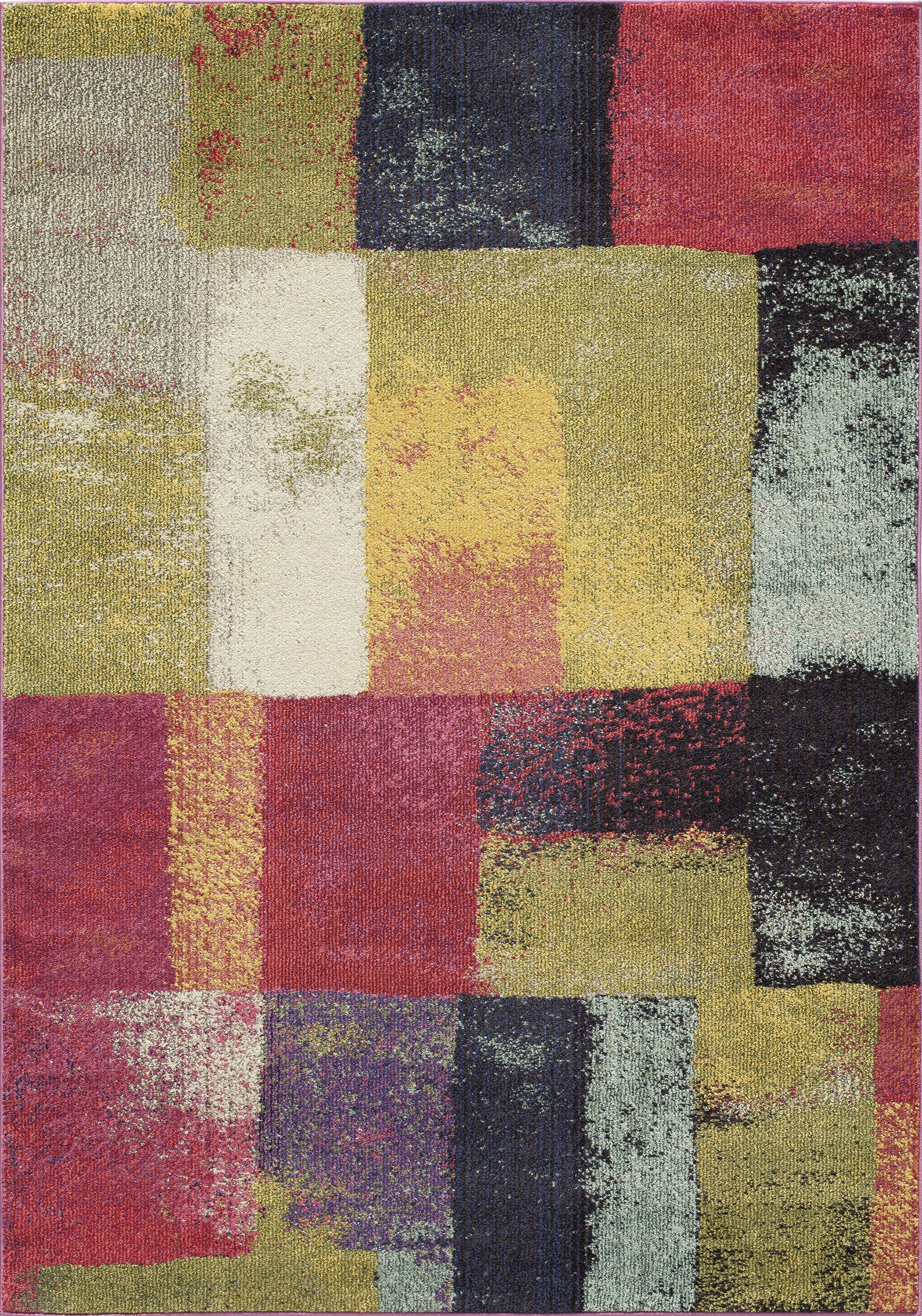 Whitchurch Beige/Gray Area Rug Rug Size: Rectangle 7'10