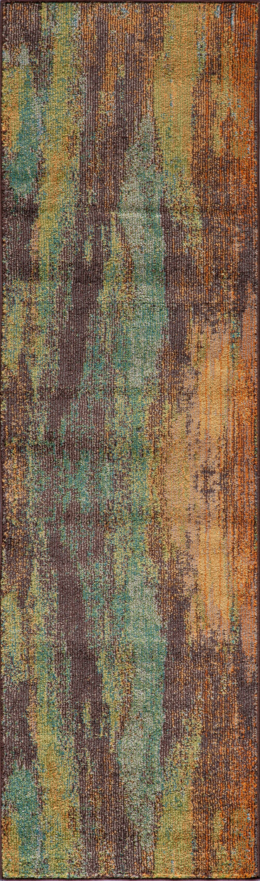 Whitchurch Brown Area Rug Rug Size: Runner 2'3