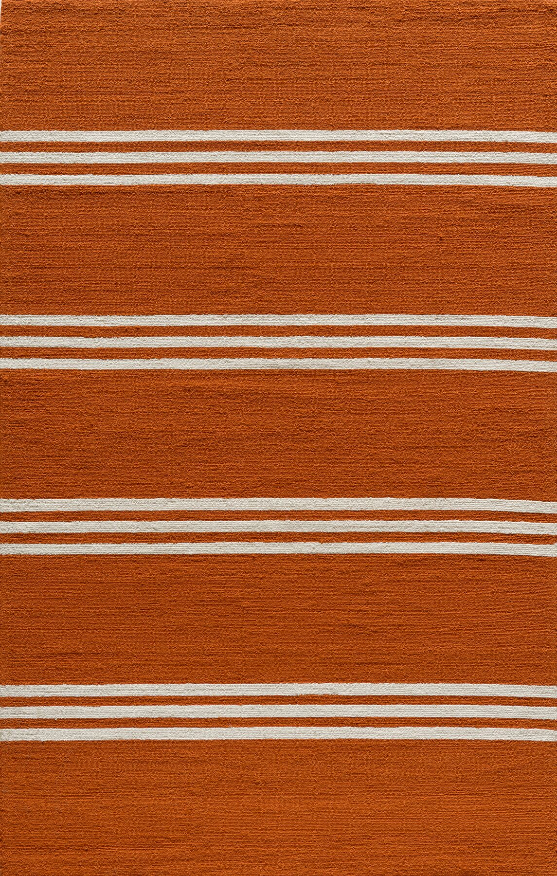 Dreadnought Tangerine Area Rug Rug Size: Rectangle 8' x 10'