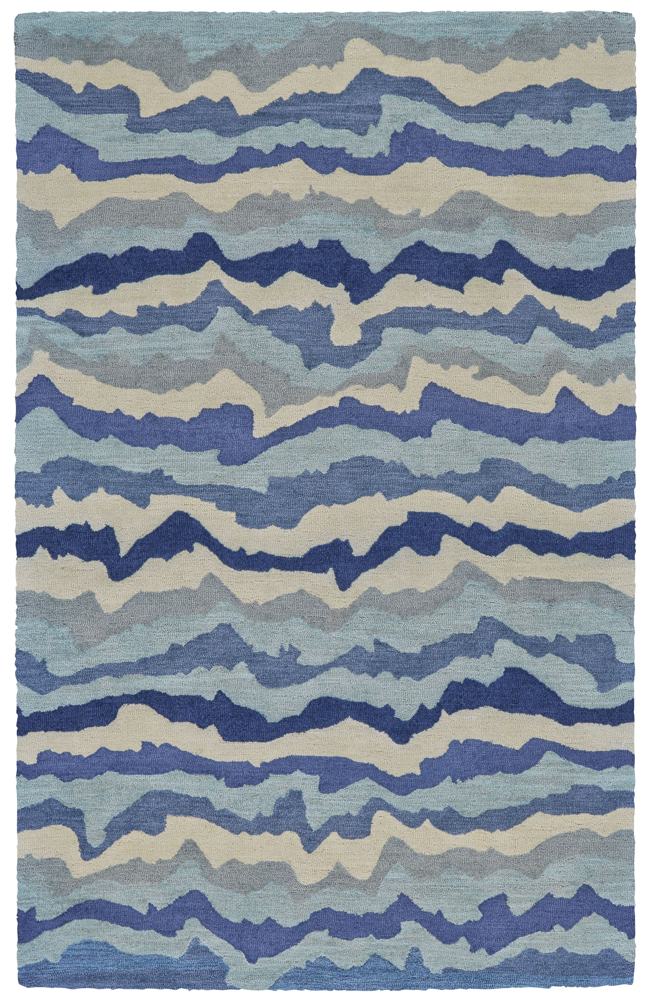 Sang Hand Tufted Tide Indoor/Outdoor Area Rug Rug Size: Rectangle 9' x 13'