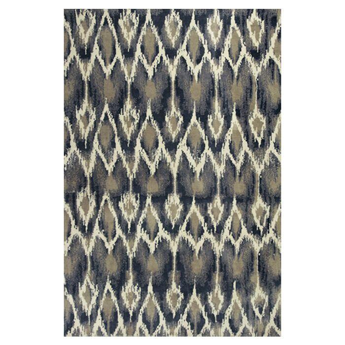 Gramercy Park Horizon Ivory/Grey Area Rug Rug Size: 6'7