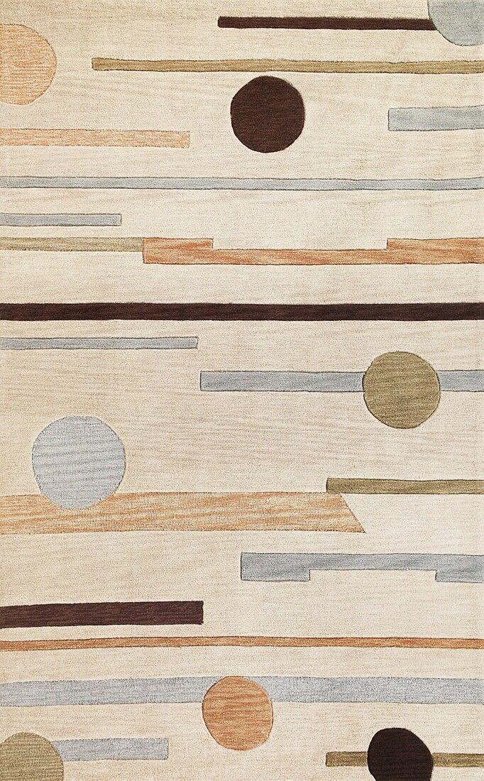Correa Beige Horizons Rug Rug Size: Rectangle 7'9