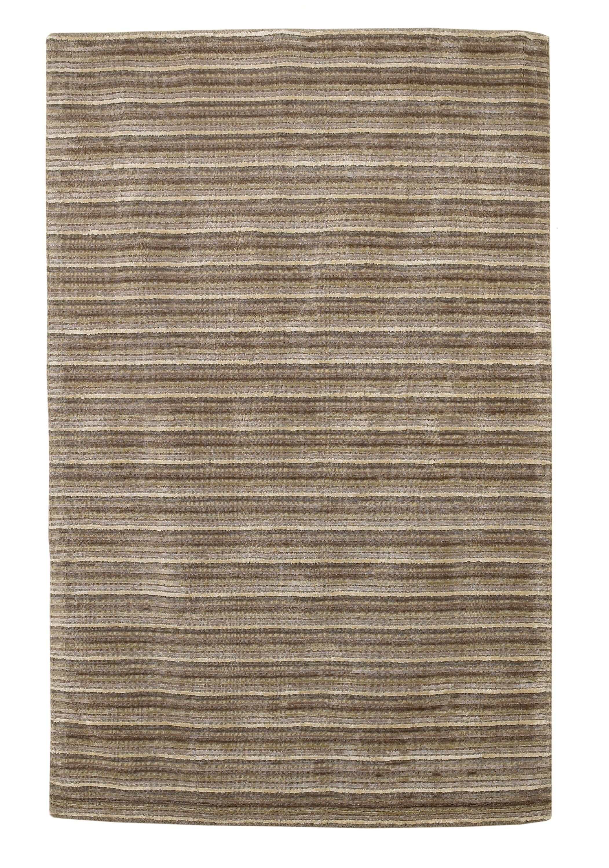 Galvan Horizon Platinum Area Rug Rug Size: Rectangle 3'3