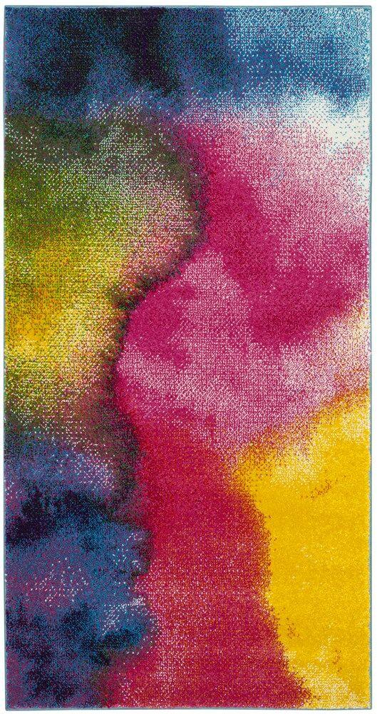 Clara Pink/Purple Area Rug Rug Size: Rectangle 6'7