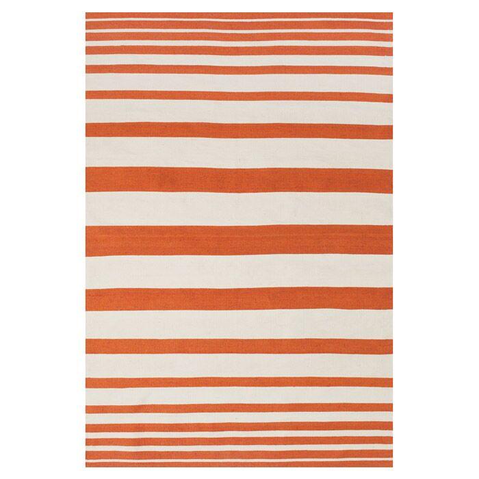 Mckayla Indoor/Outdoor Area Rug in Orange Rug Size: Rectangle 5' x 8'