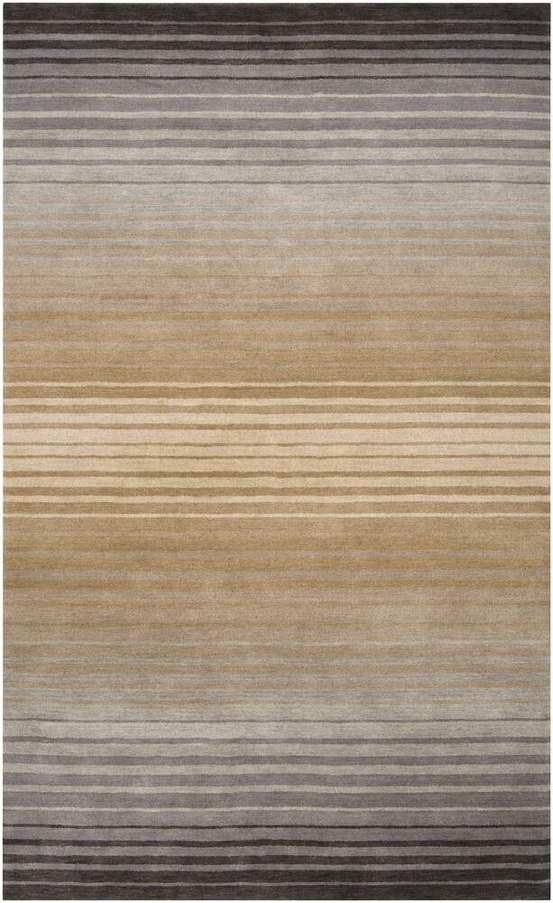 Laurette Taupe Area Rug Rug Size: Rectangle 5' x 8'