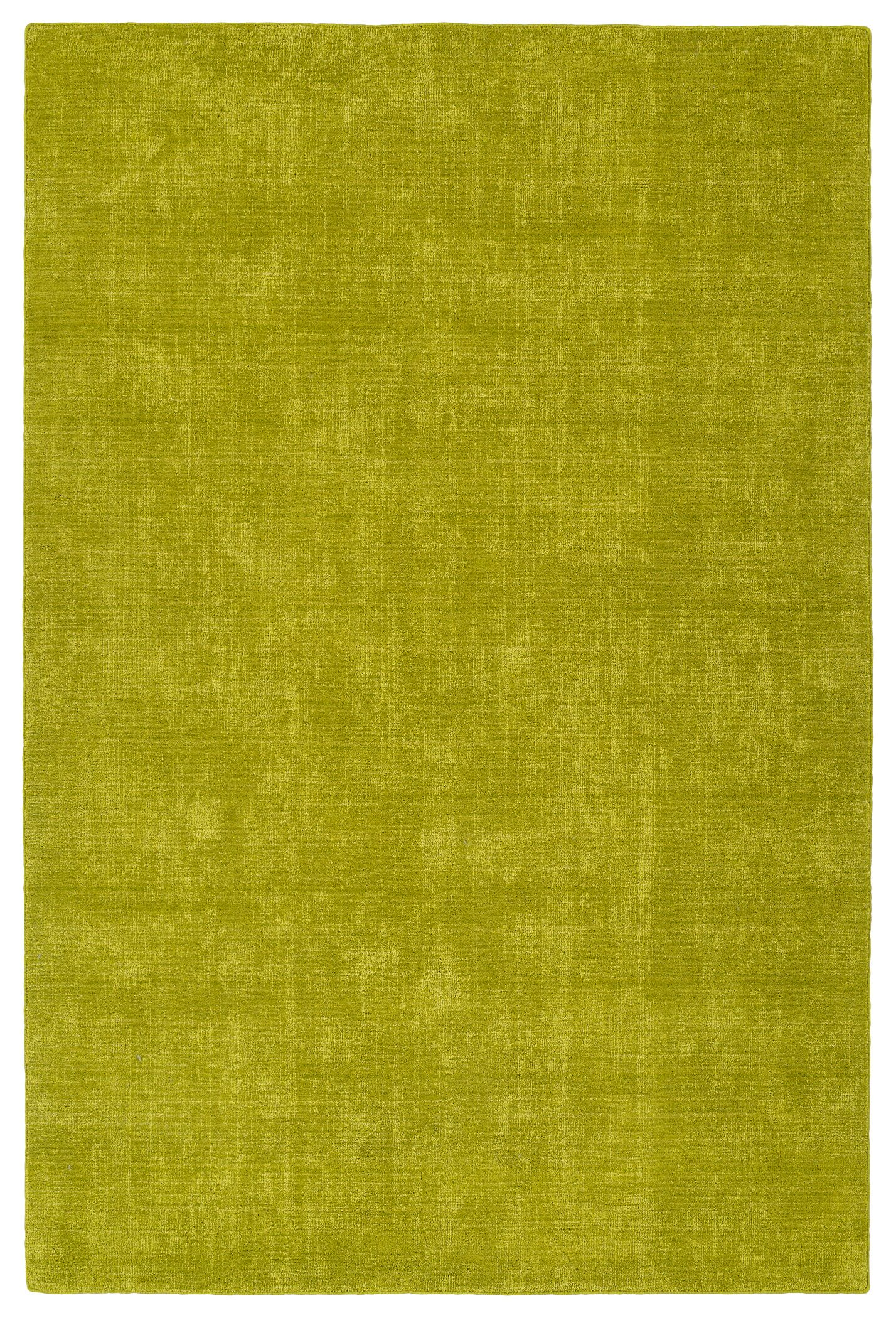 Allibert Hand-Loomed Lime Green Indoor/Outdoor Area Rug Rug Size: Rectangle 9' x 12'