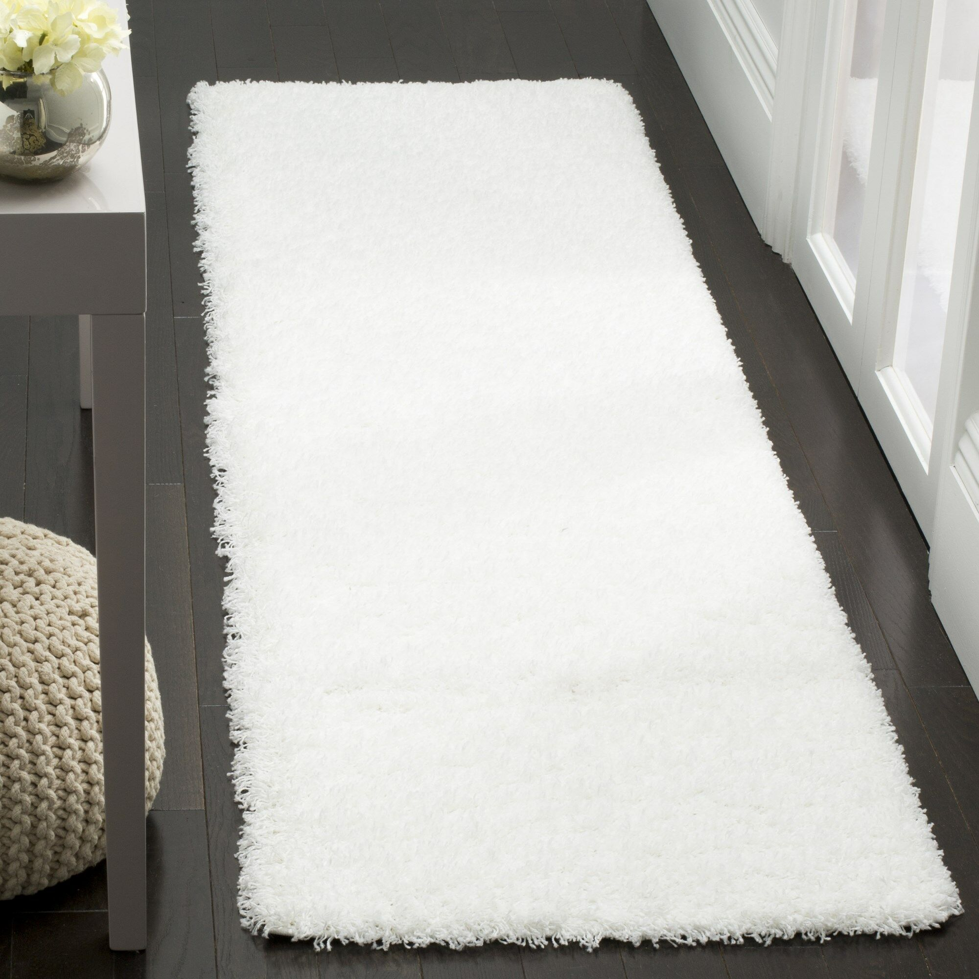 Cole White Area Rug Rug Size: Rectangle 4' x 6'
