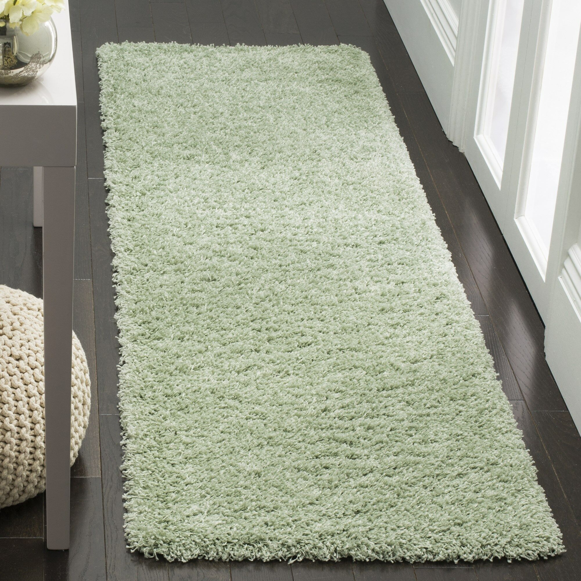 Combs Green Area Rug Rug Size: Runner 2'3