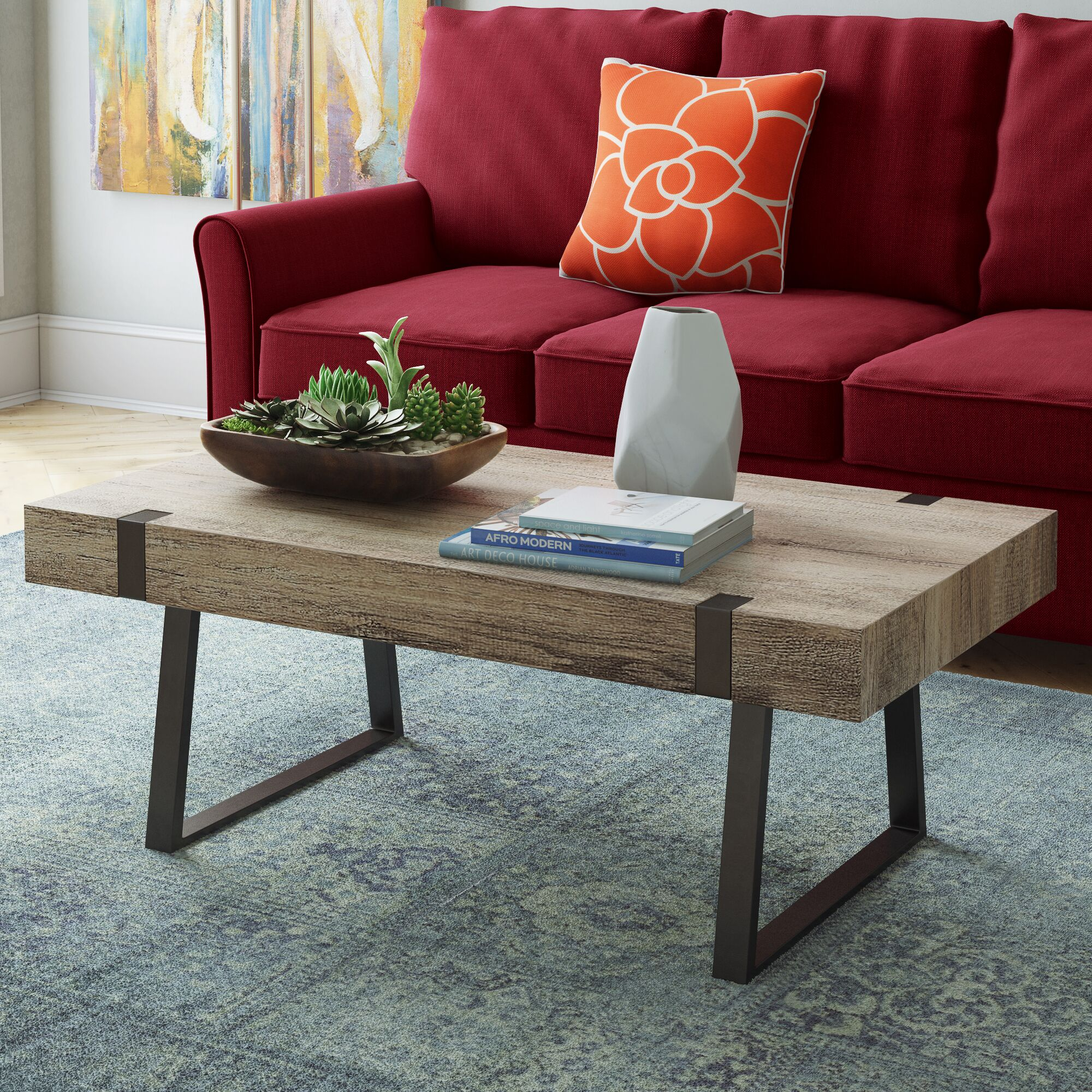 Winnie Coffee Table Color: Canyon Gray
