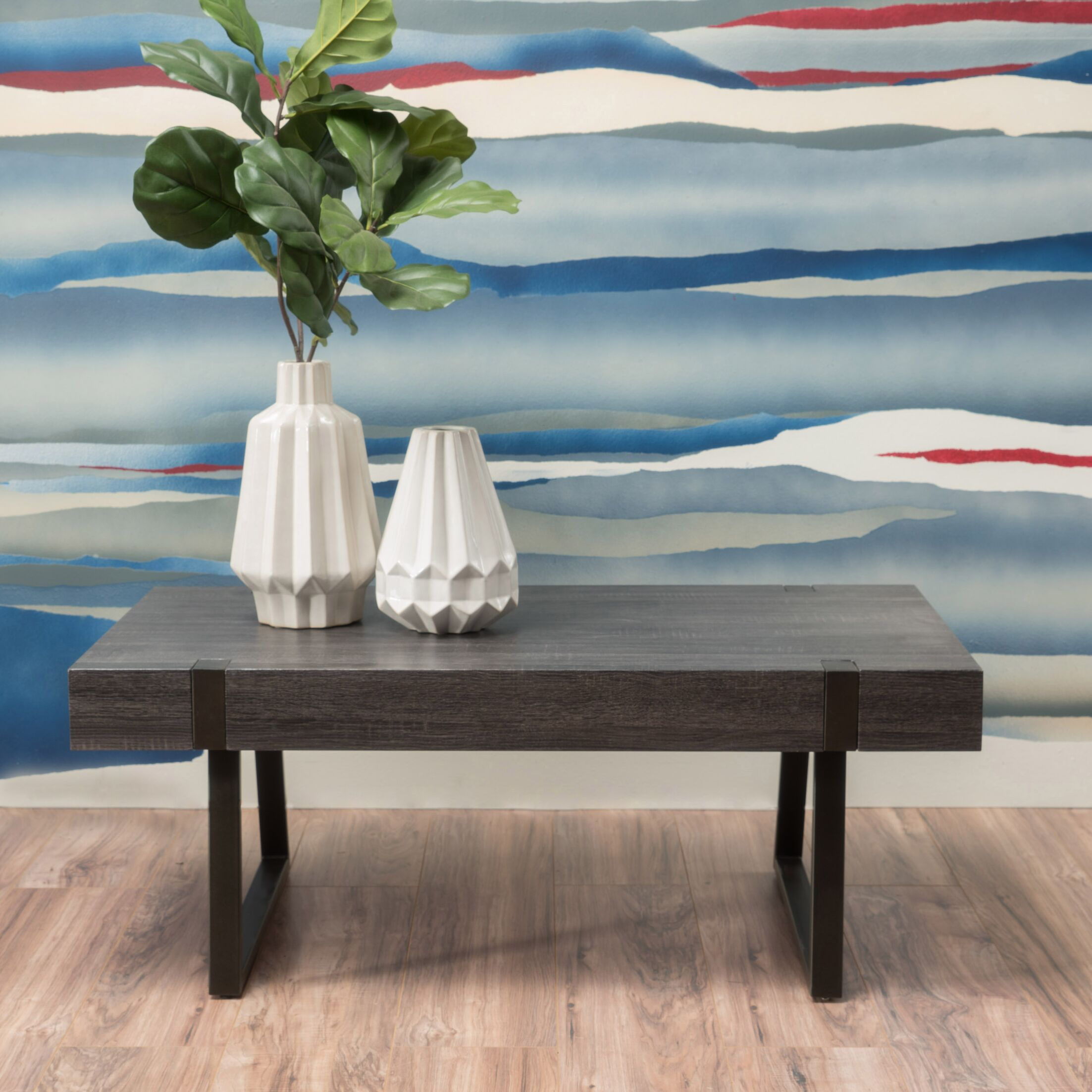 Winnie Coffee Table Color: Black Oak