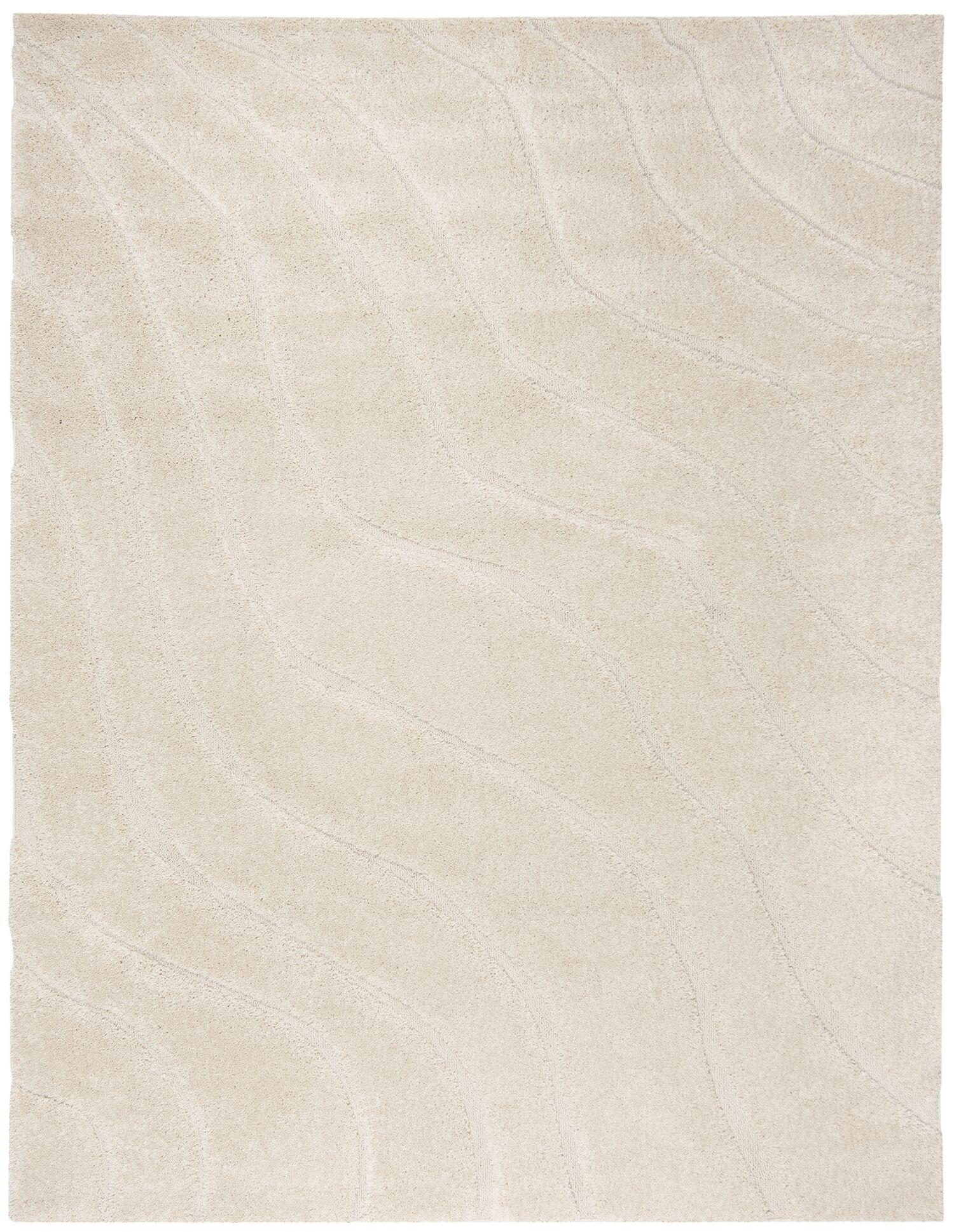 Enrique Cream Area Rug Rug Size: Rectangle 5'3