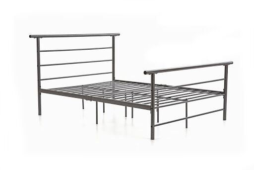 Carlton Platform Bed Size: Twin, Color: White