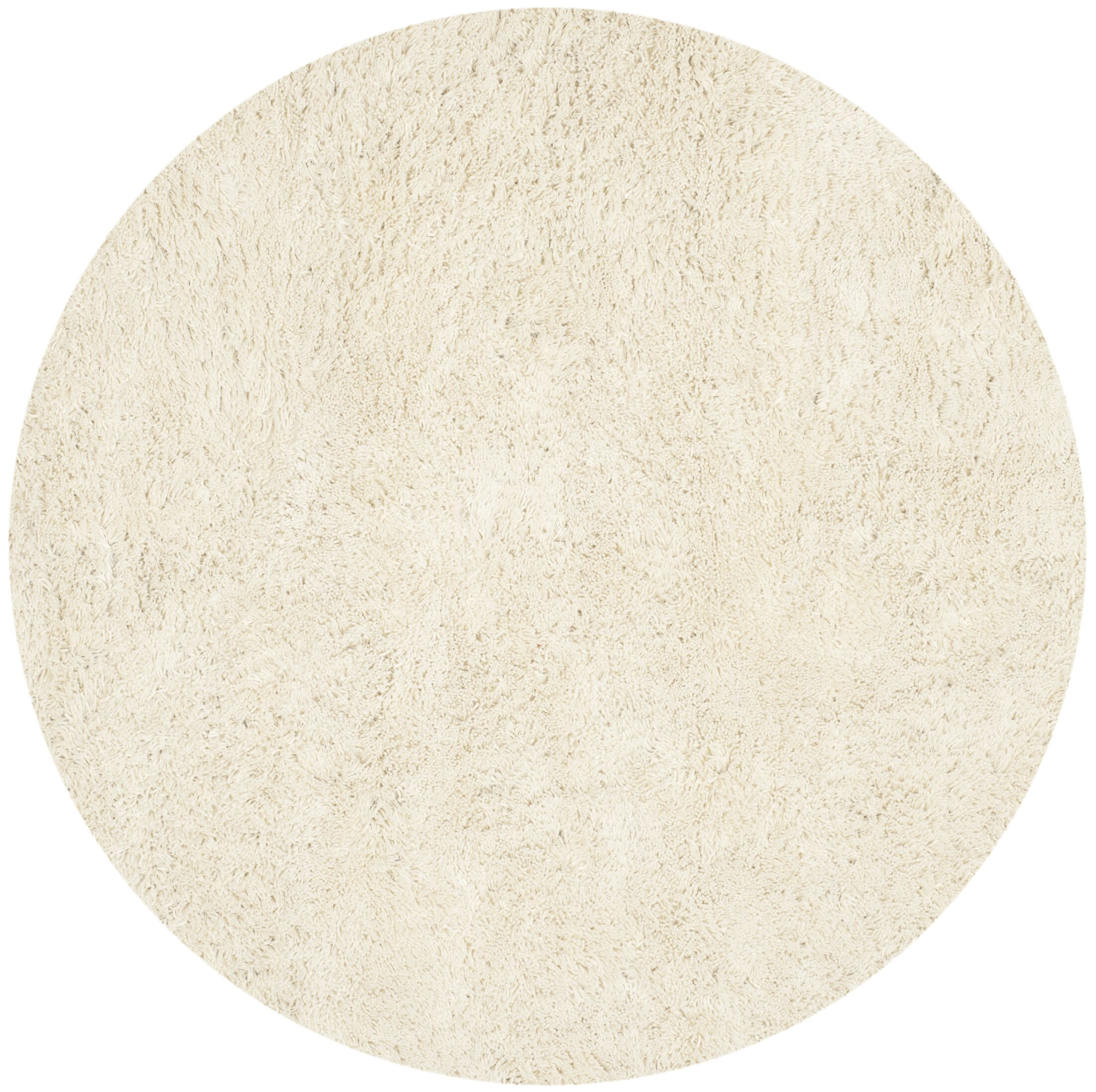 Starr Hill Ivory Area Rug Rug Size: Round 4'