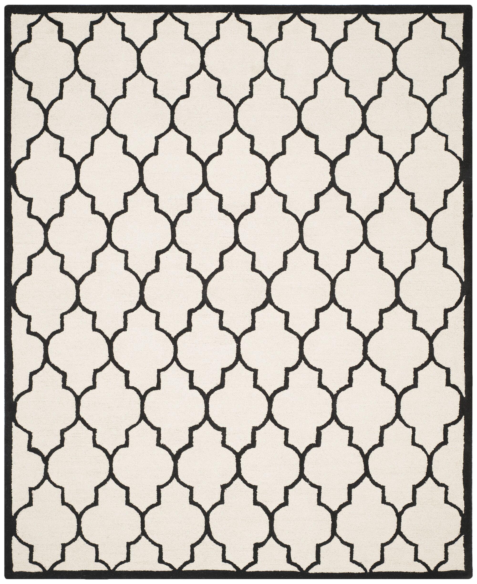 Charlenne Hand-Tufted Area Rug Rug Size: Rectangle 8' x 10'