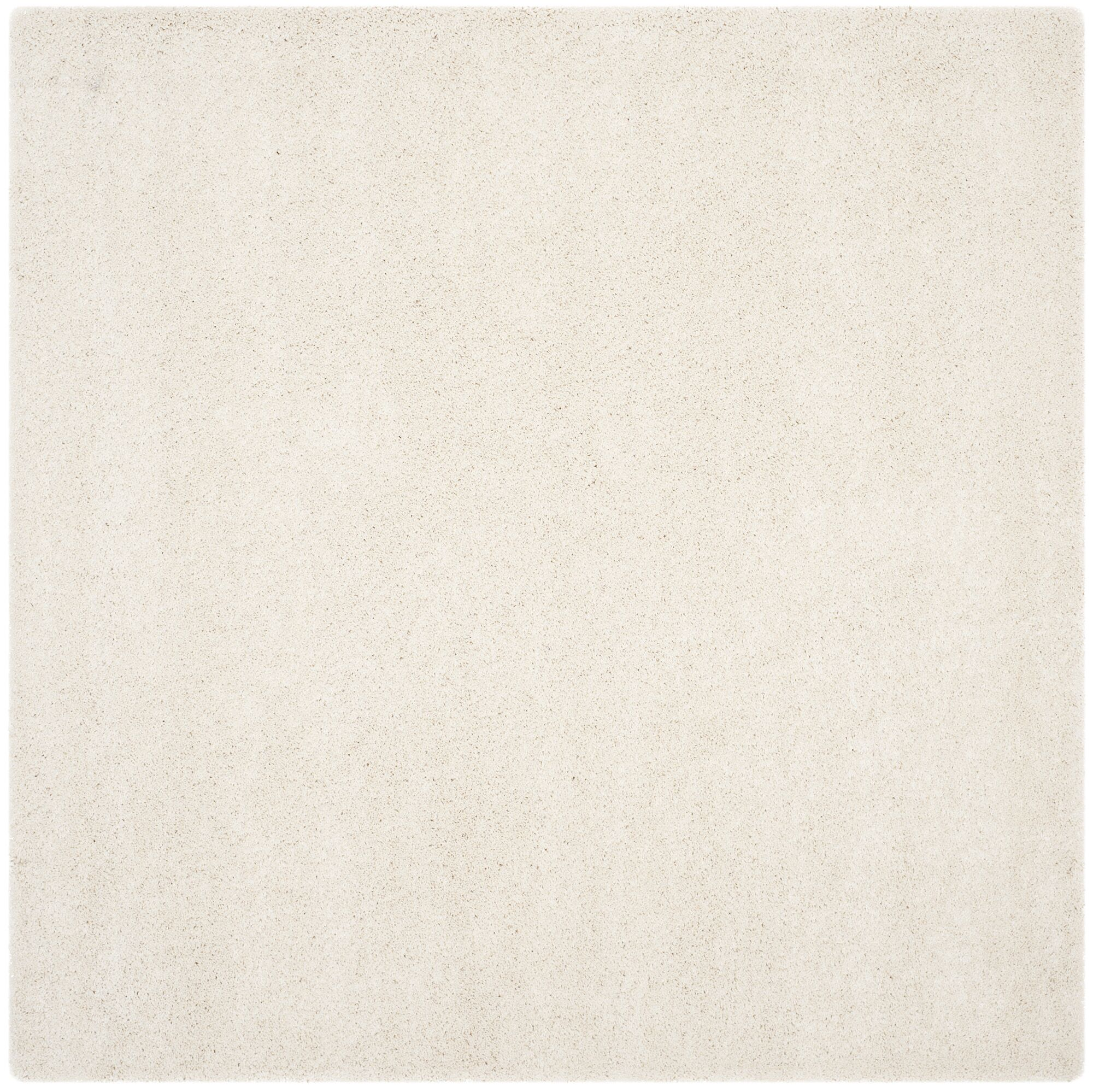 Starr Hill Solid Ivory Area Rug Rug Size: Square 7'