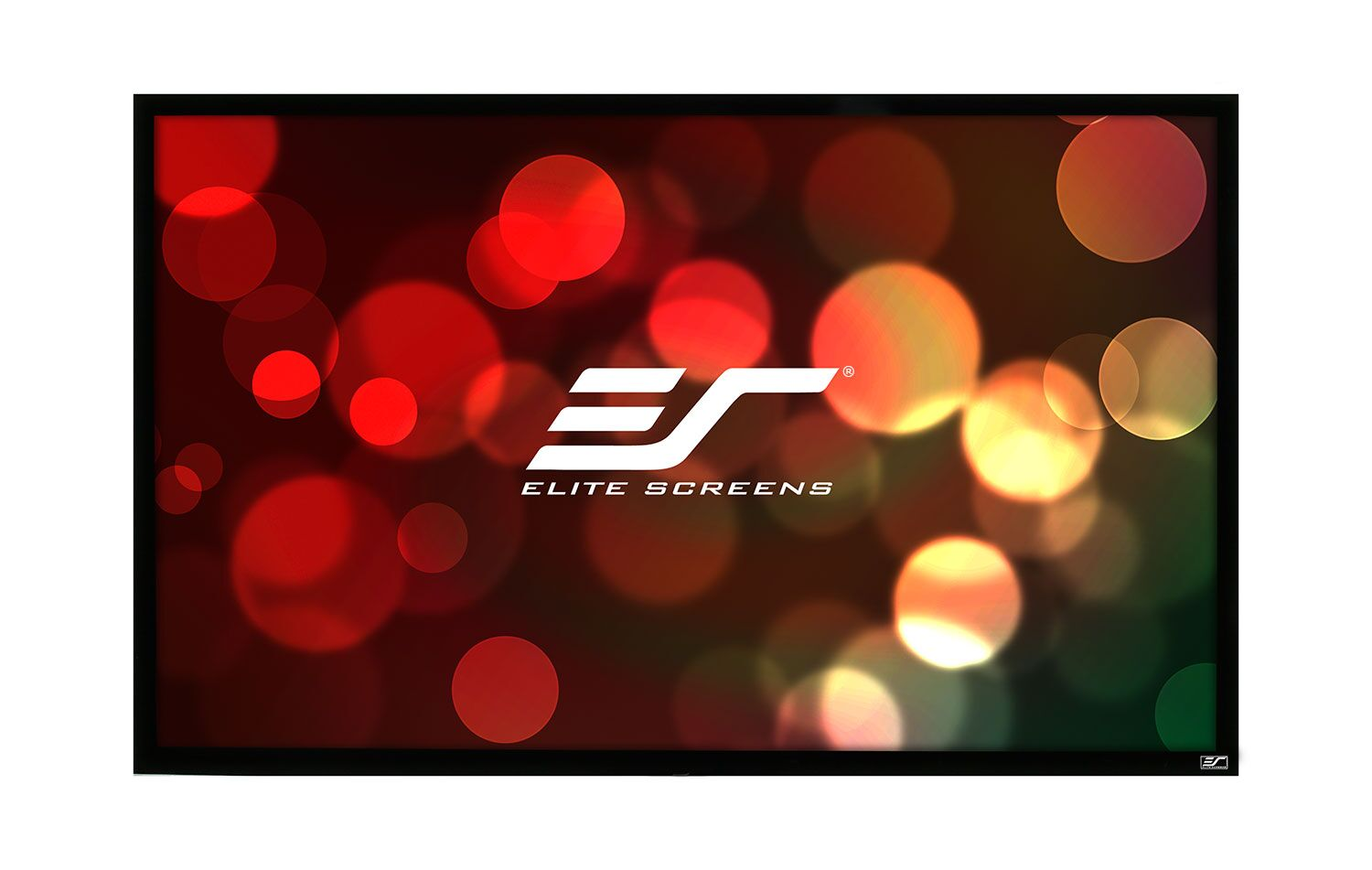 ezFrame Plus Series White Fixed Frame Projection Screen Viewing Area: 345
