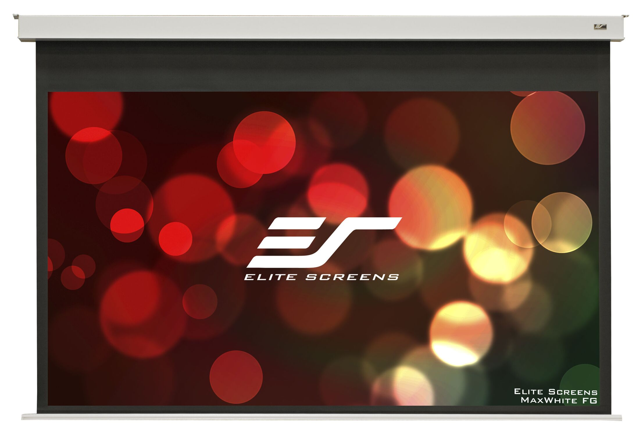 Evanesce White Electric Projection Screen Viewing Area: 49