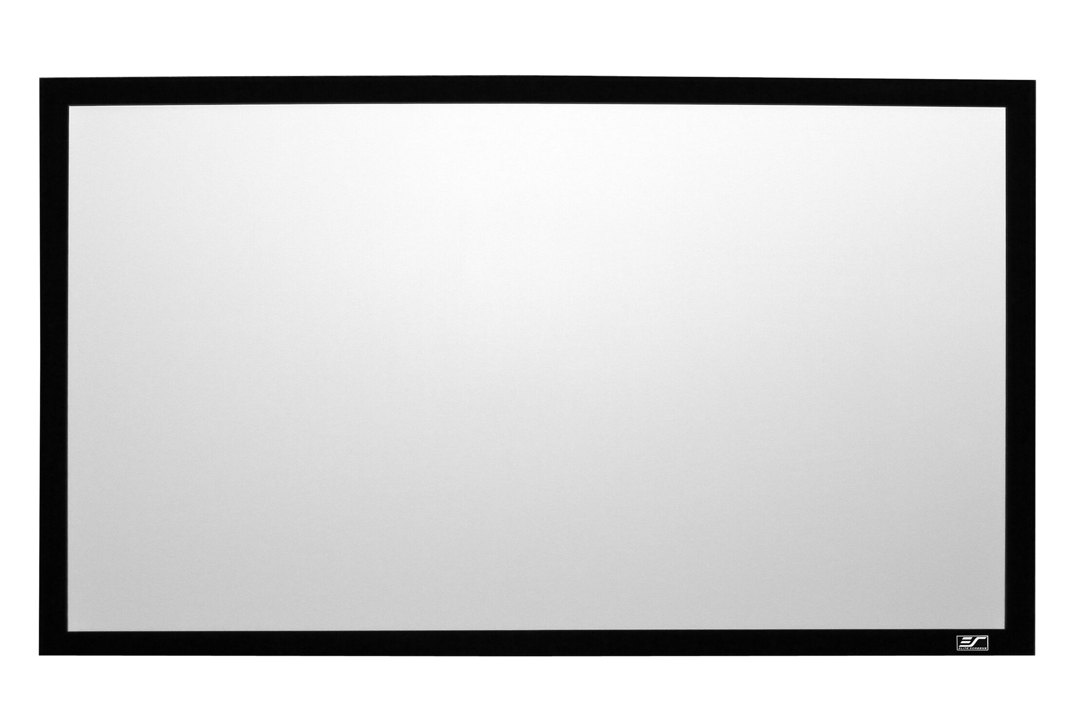 Sable Frame 2 White Fixed Frame Projection Screen Viewing Area: 110