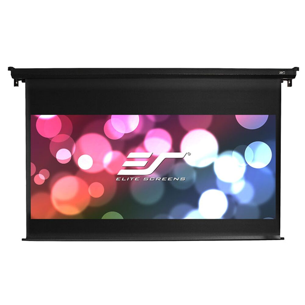 VMax Dual White Electric Projection Screen Viewing Area: 120