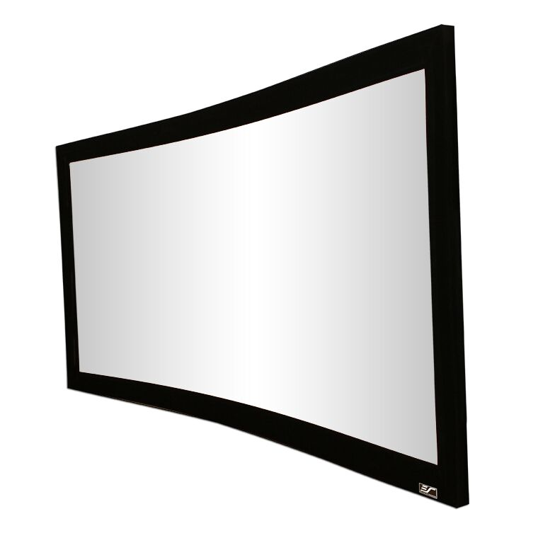 Features: -Aspect ratio: 2.35:1.-Screen gain: 1.1.-Lunette Series collection.-Home theater projection.-Product Type: Fixed frame.-Mount Type: Wall/Ceiling mounted.-Application: Home theater.-Projection Type: Front.-Screen Surface: White -Screen Surfac...