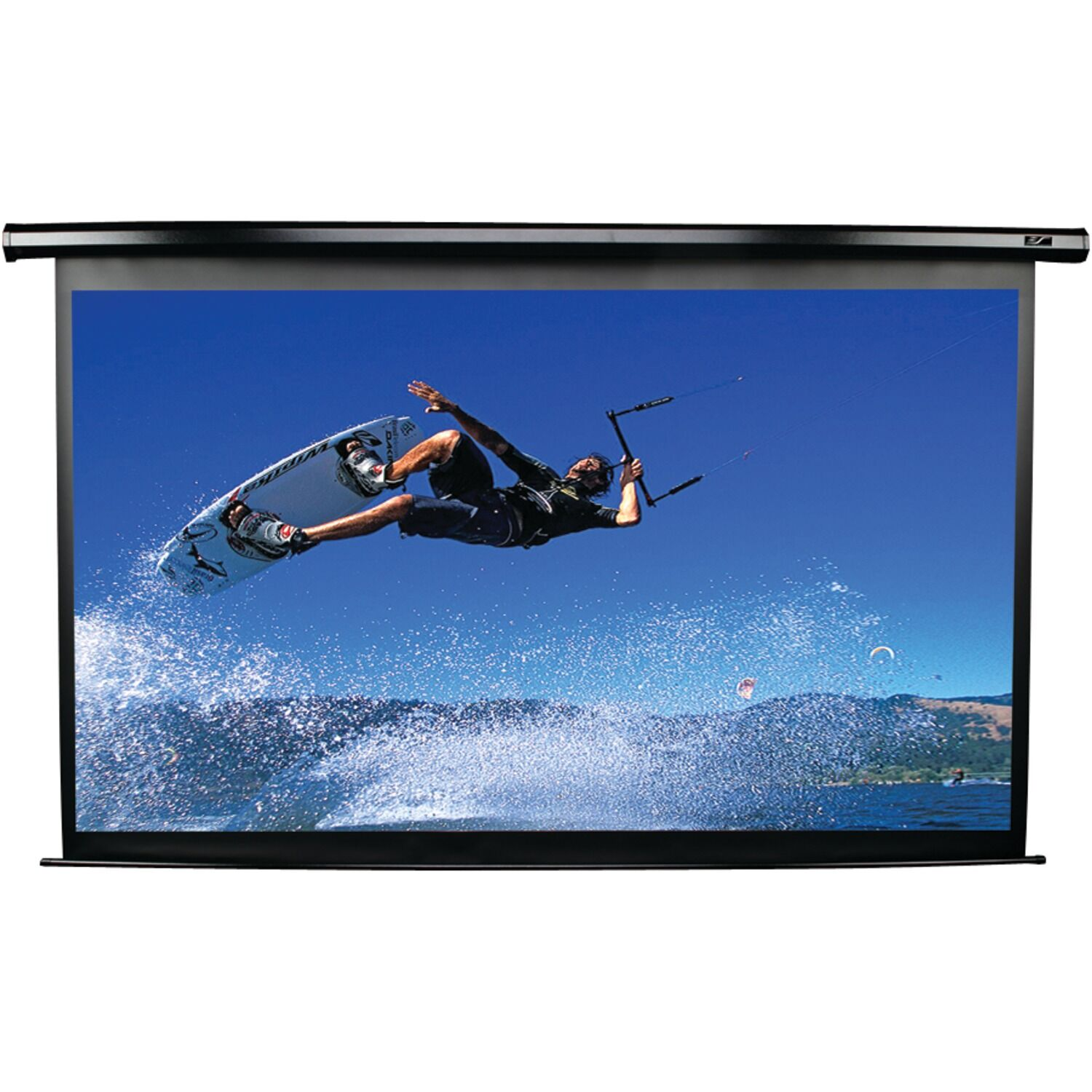 Spectrum Series Electric Projection Screen Viewing Area: 49