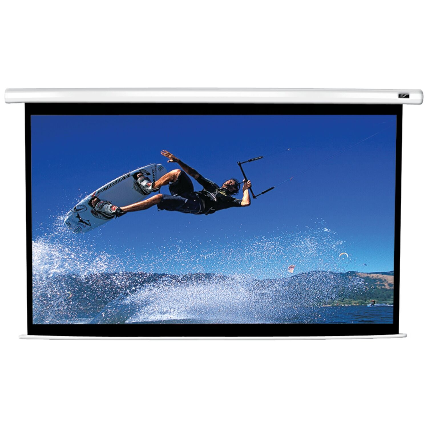 VMAX2 Series Electric Projection Screen Viewing Area: 49
