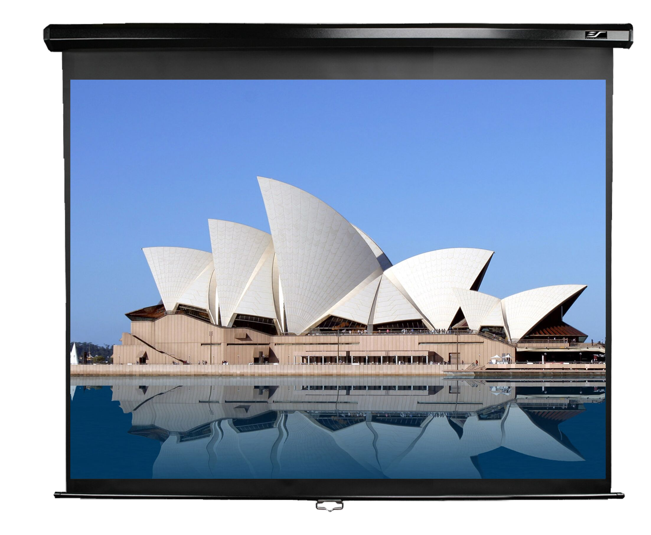 Manual Series White Manual Projection Screen Viewing Area: 119