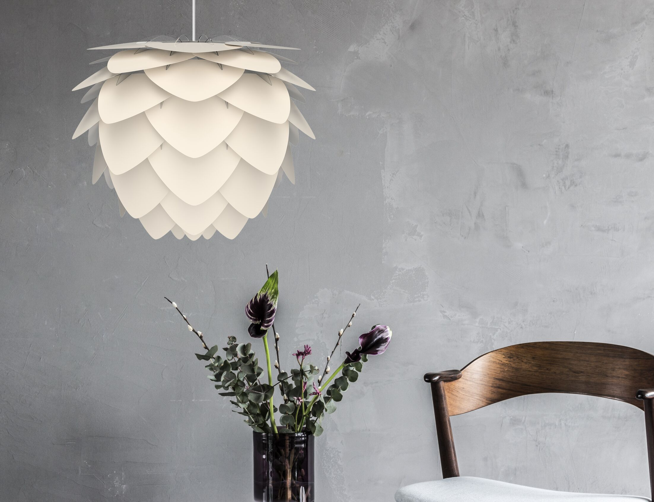 Hardwired 1-Light Geometric Pendant Size: 18.9