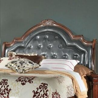 Goldsmith Arch Upholstered Panel Headboard Size: King
