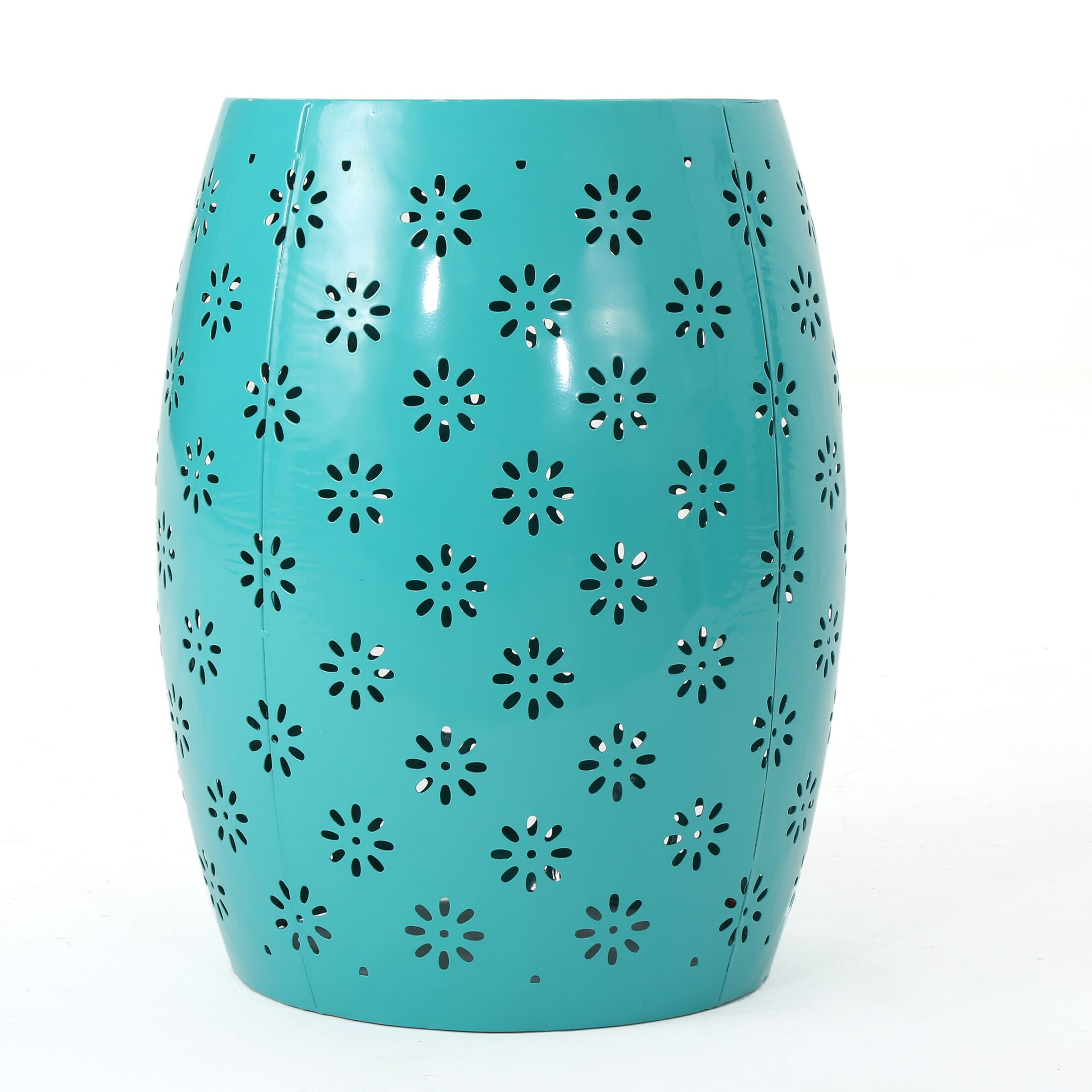 Pastrana Accent End Table Color: Teal