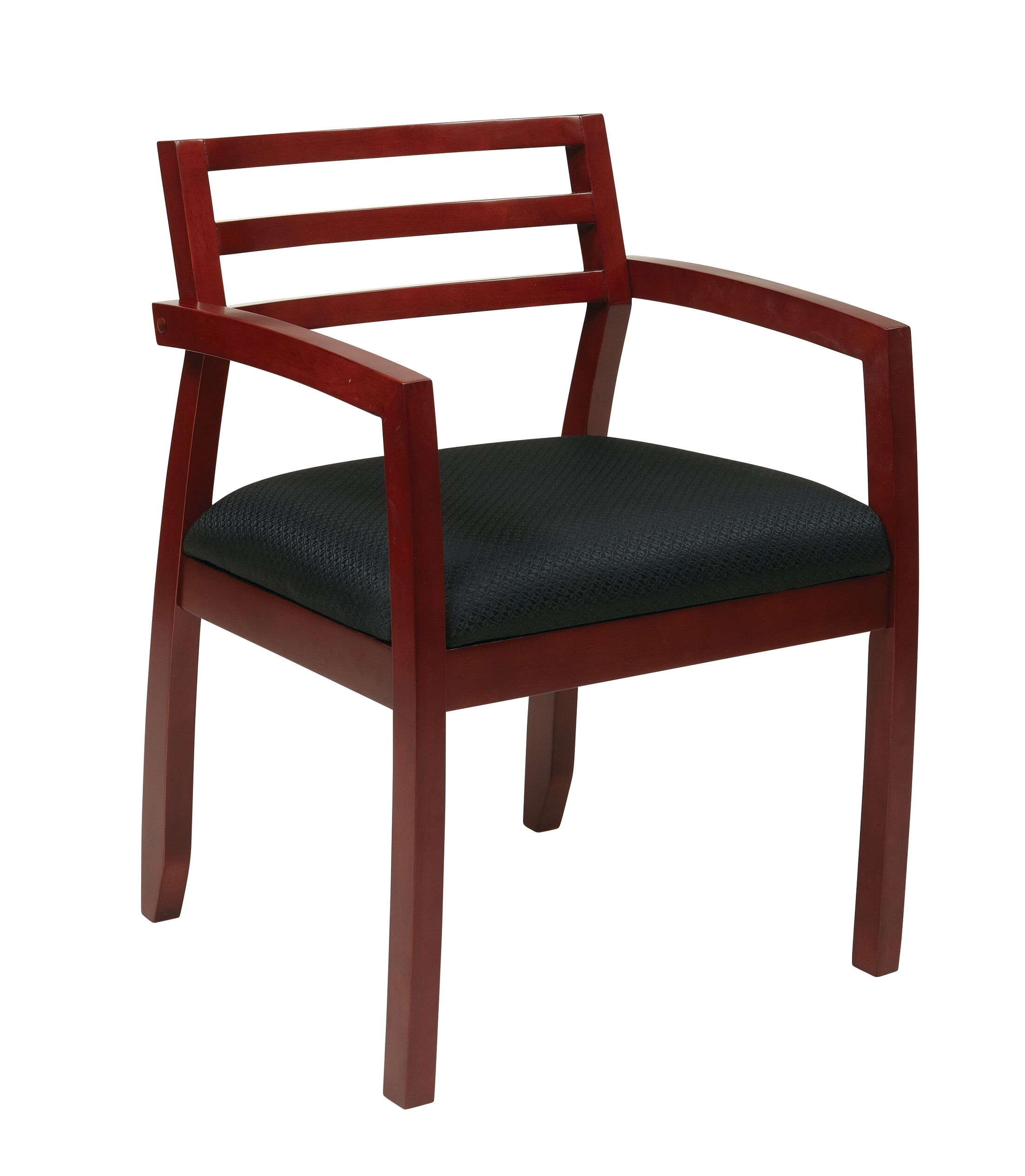 Roxanne Back Guest Chair Finish: Cherry