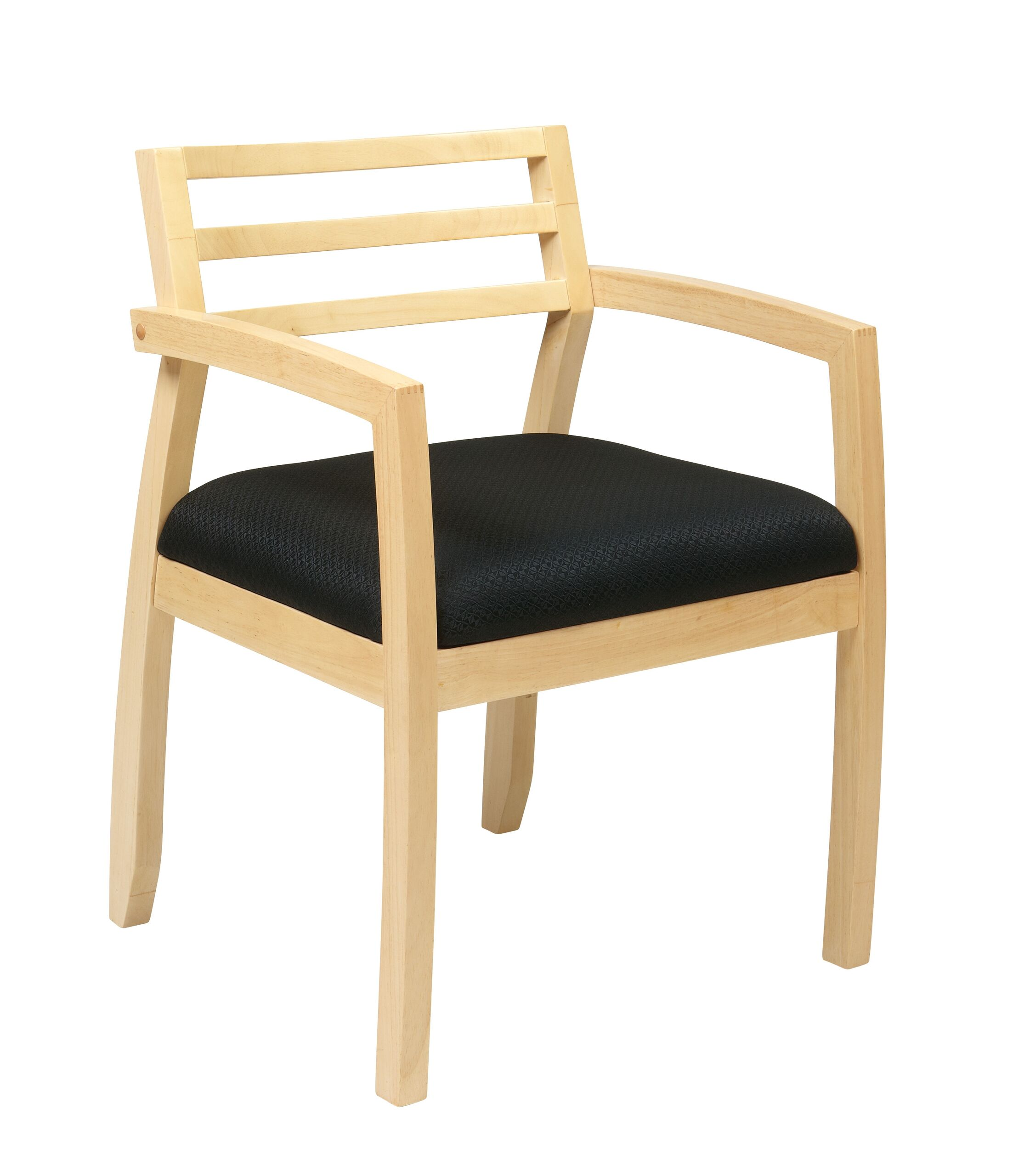 Roxanne Back Guest Chair Finish: Maple