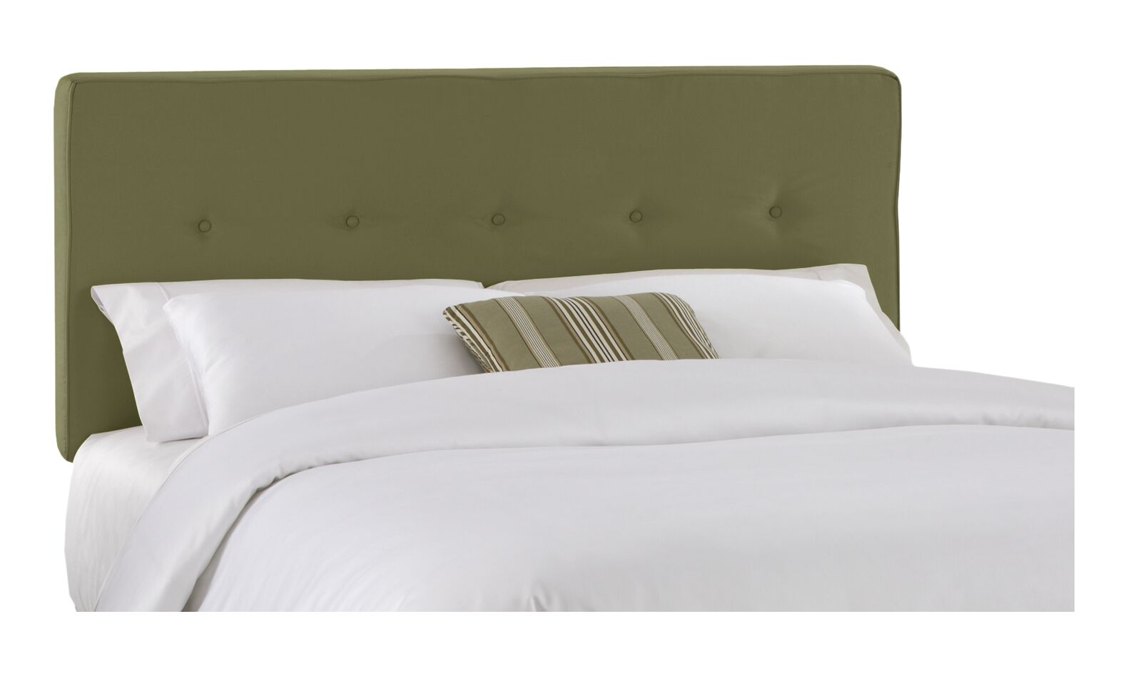 Morton Upholstered Panel Headboard Size: Full, Color: Sage