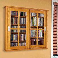 Jones Multimedia Wall Mounted Cabinet Color: Oak
