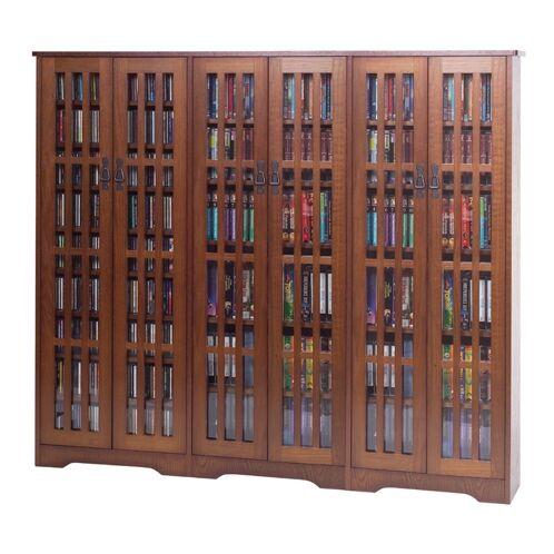 Jones Disc Cabinet Color: Walnut