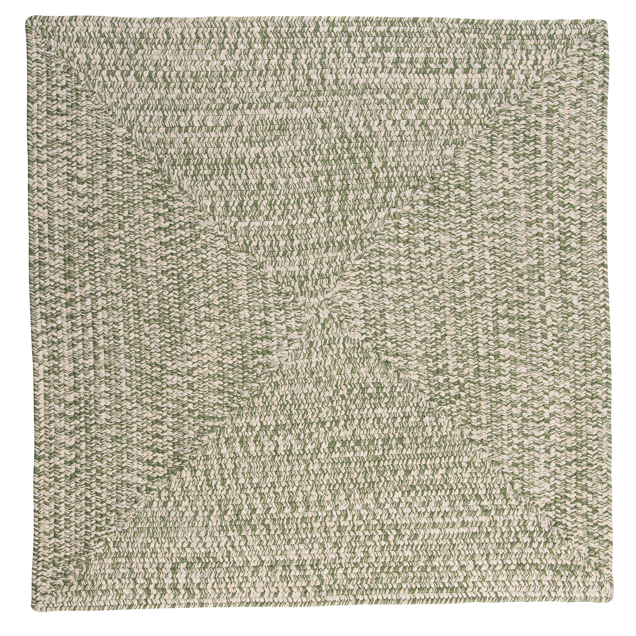 Hawkins Greenery Indoor / Outdoor Area Rug Rug Size: Square 10'