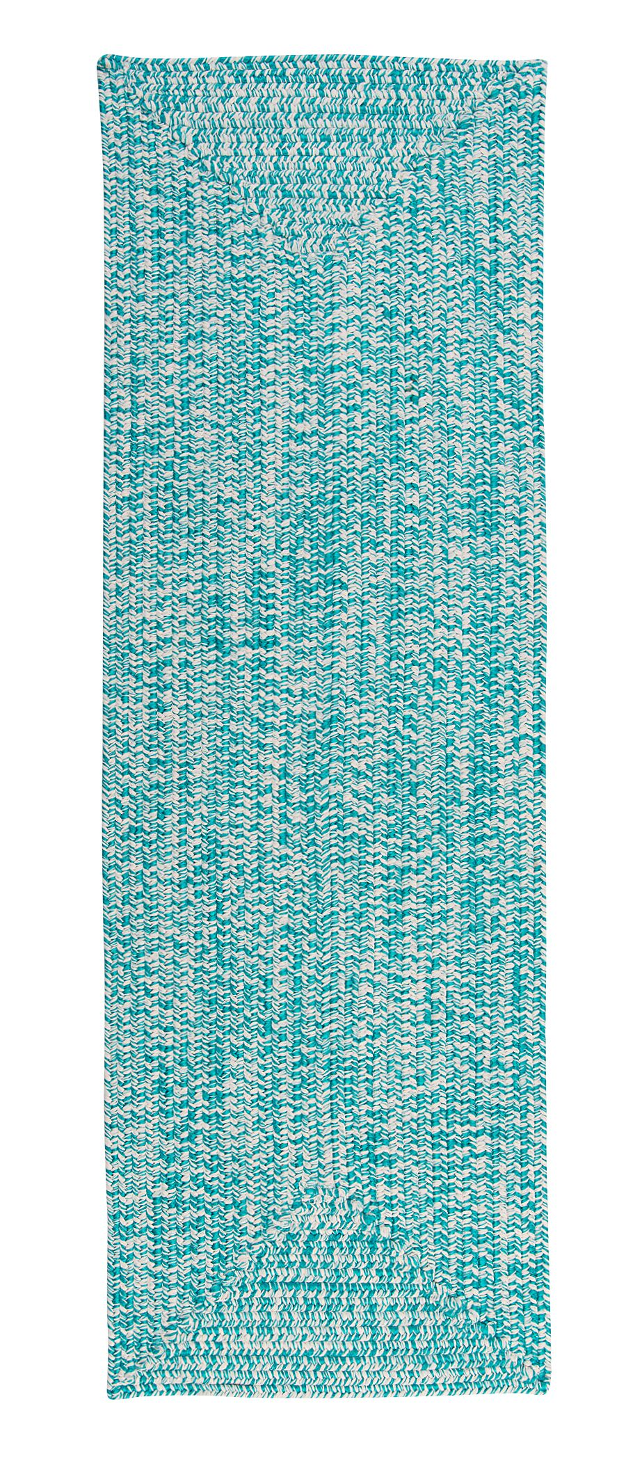 Hawkins Turquoise Indoor/Outdoor Area Rug Rug Size: Runner 2' x 8'