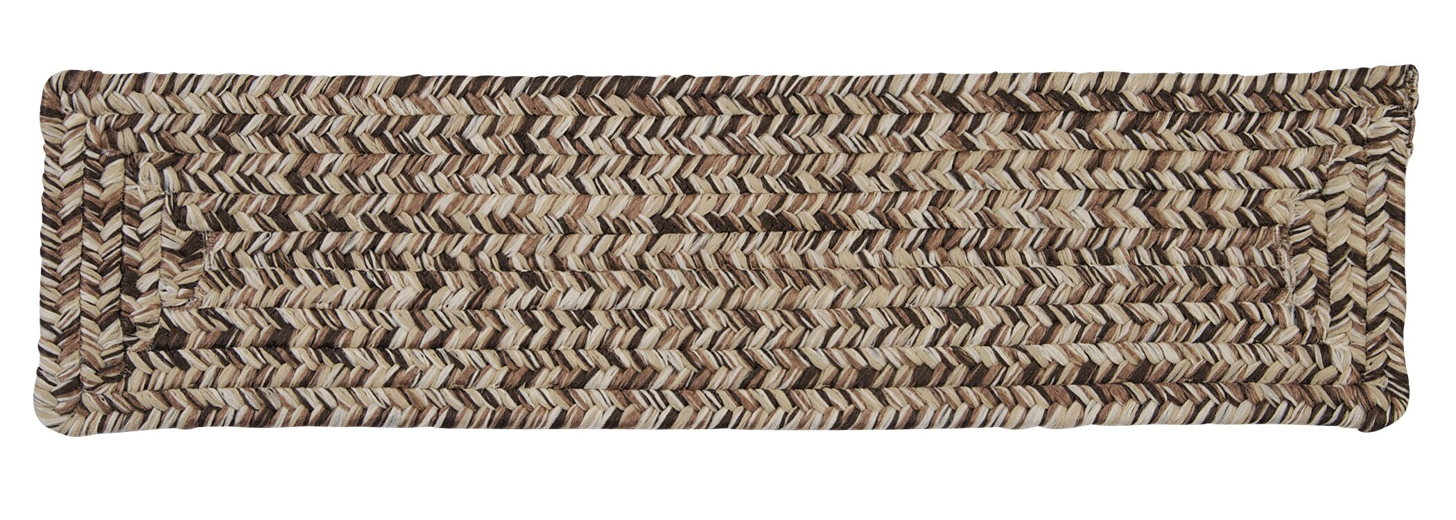 Beltran Weathered Brown Stair Tread Quantity: Set of 13