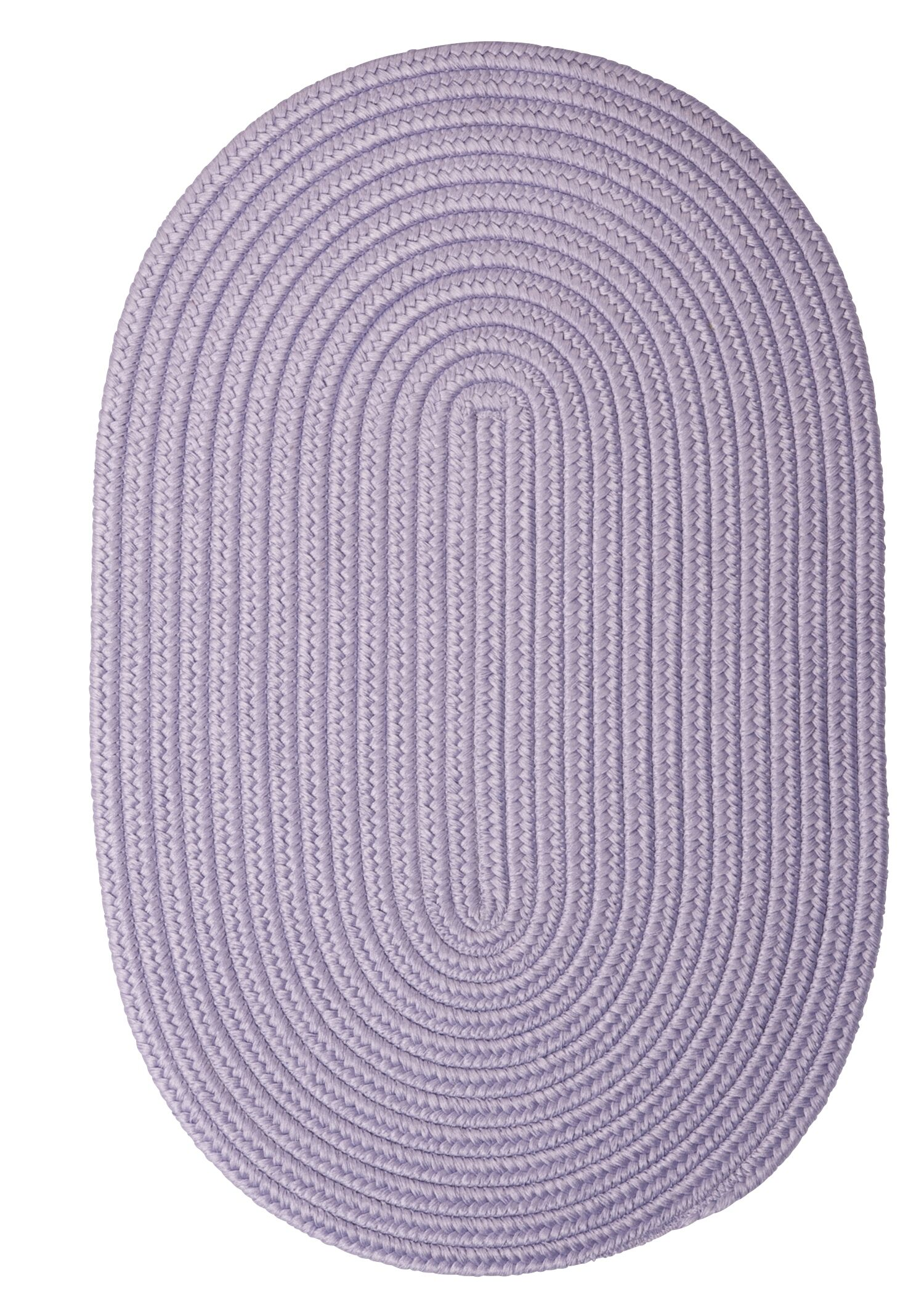 Mcintyre Amethyst Outdoor Area Rug Rug Size: Oval Runner 2' x 10'
