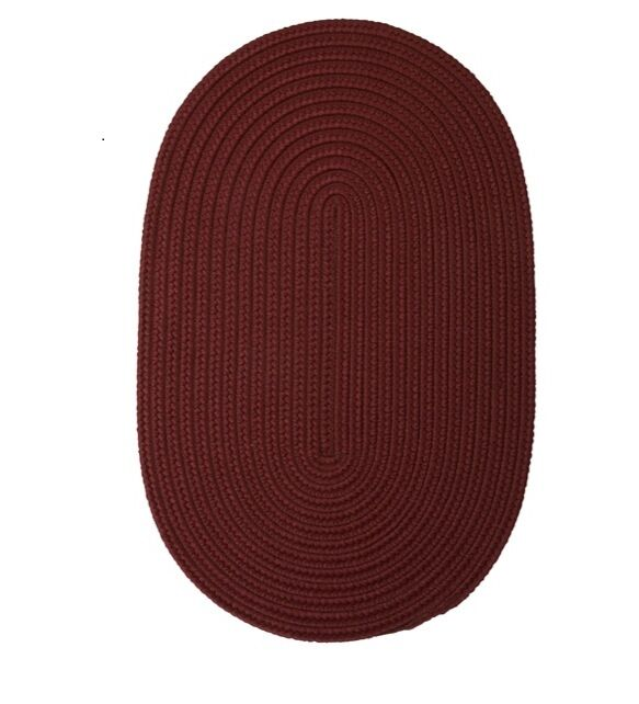 Mcintyre Braided Green Outdoor Area Rug Rug Size: Oval 2' x 4'