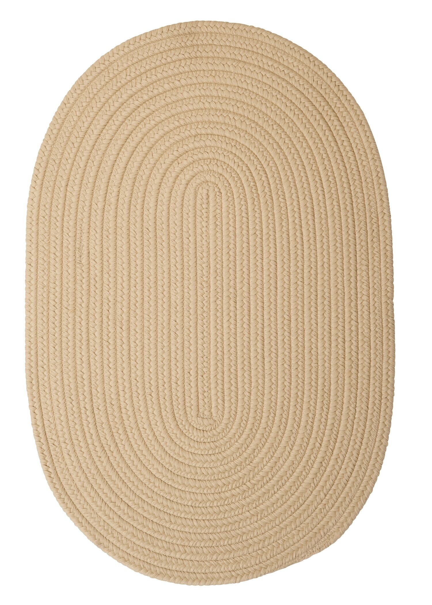 Mcintyre Linen Outdoor Area Rug Rug Size: Oval 12' x 15'