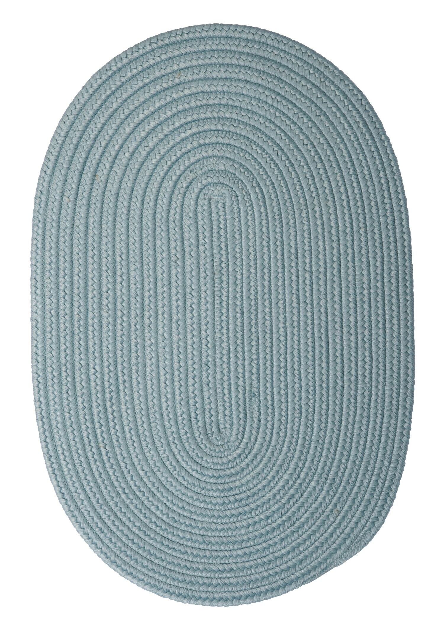 Mcintyre Blue Outdoor Area Rug Rug Size: Oval 7' x 9'