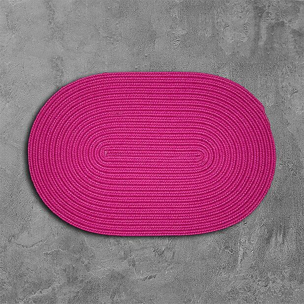 Mcintyre Pink Outdoor Area Rug Rug Size: Oval 4' x 6'