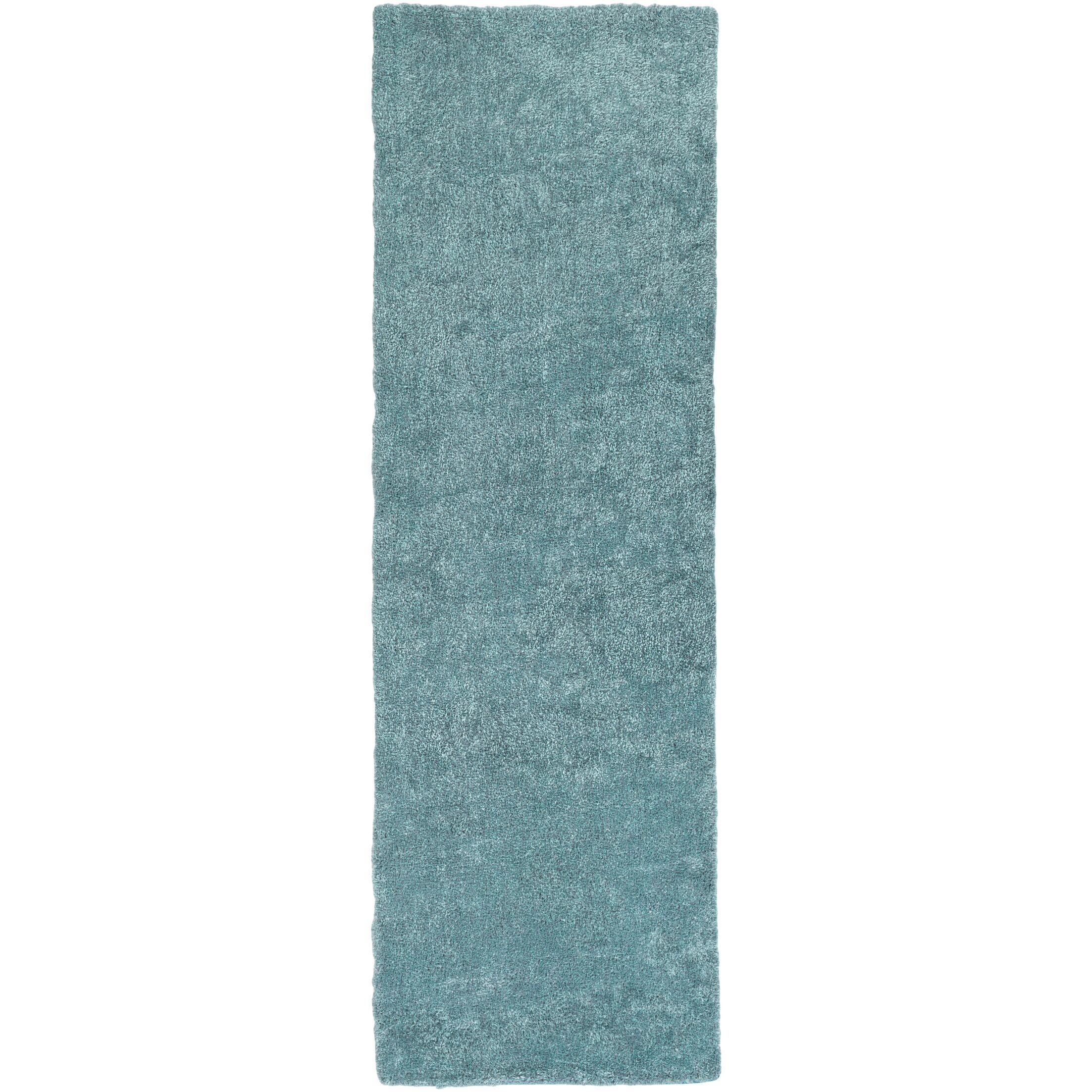 Infant Teal Area Rug Rug Size: Runner 2'6