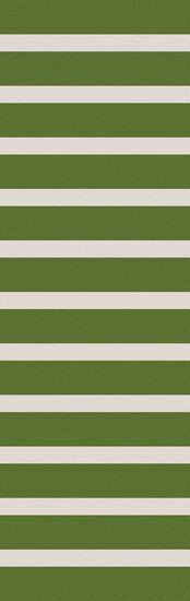 Kramer Ivory/Peridot Striped Area Rug Rug Size: Rectangle 5' x 8'