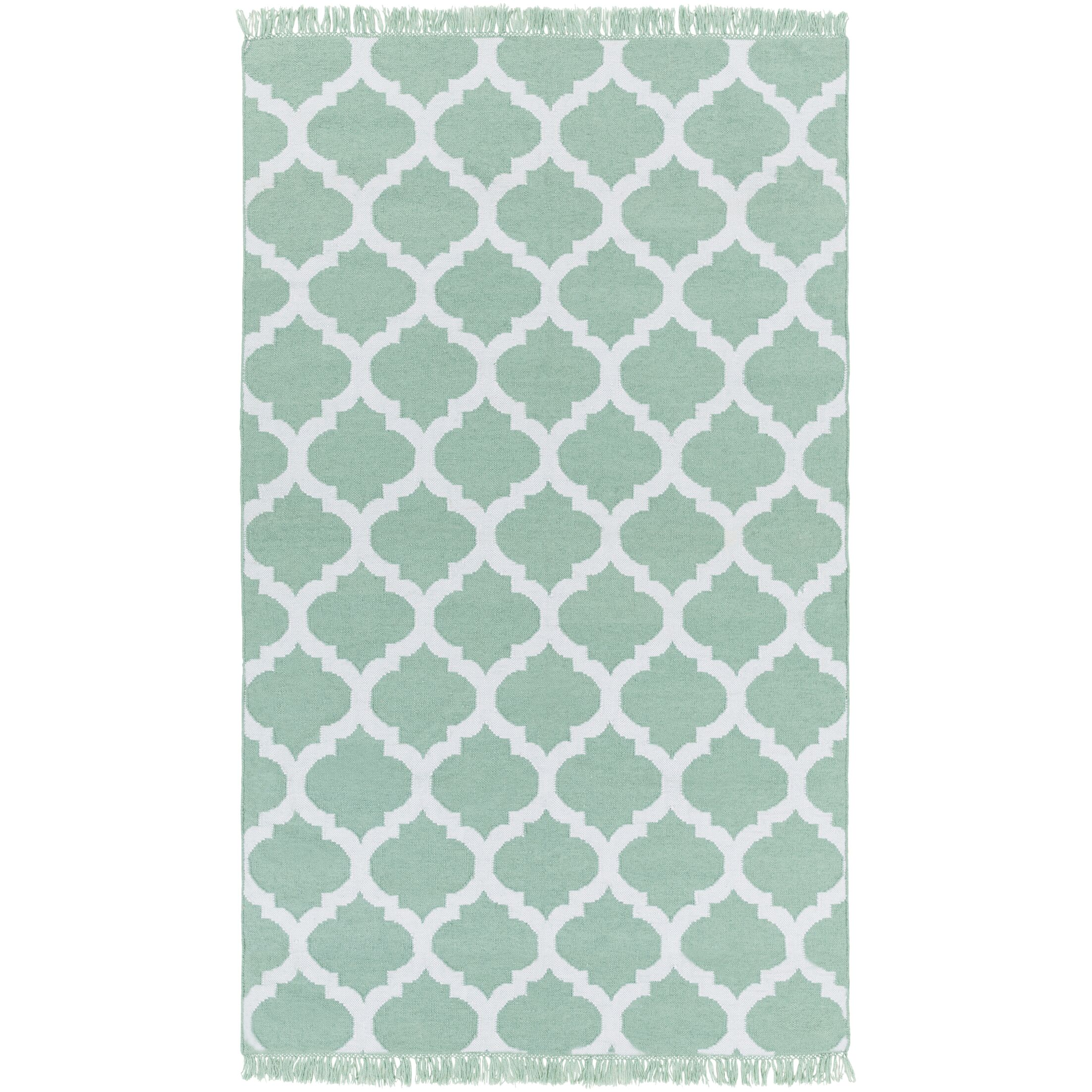 Derby Hand-Woven Green Outdoor Area Rug Rug Size: Rectangle 8' x 11'